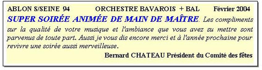 ablon sur seine _ orchestre bavarois