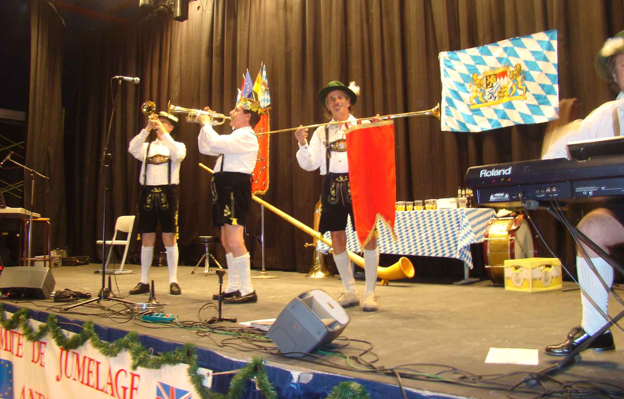 3 orchestre bavarois et de variété Gallisch Brezel, Andresy 78 2009