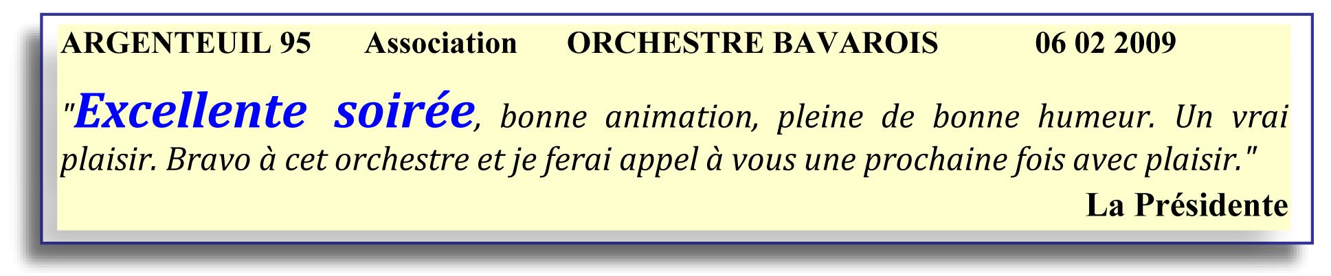 Argenteuil 95 (2009)- soirée bavaroise