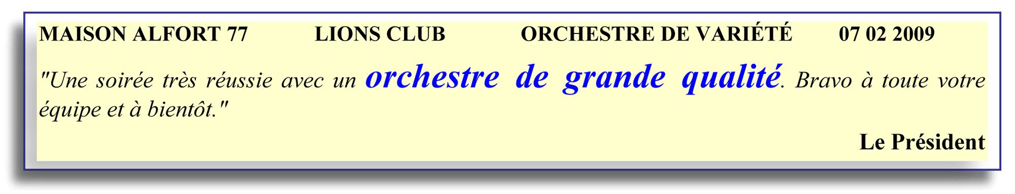 maison alfort 77-2009- orchestre de variété