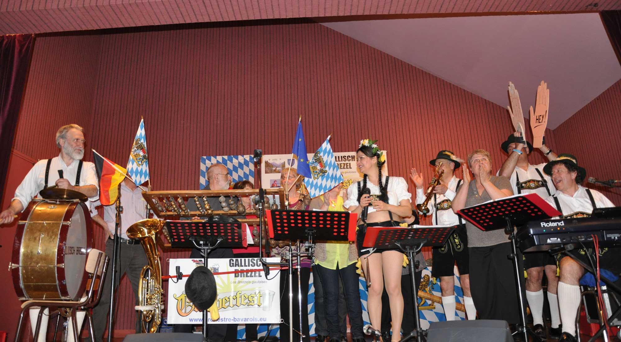 Rosiers sur Loire - 49- 2010- orchestre bavarois 1