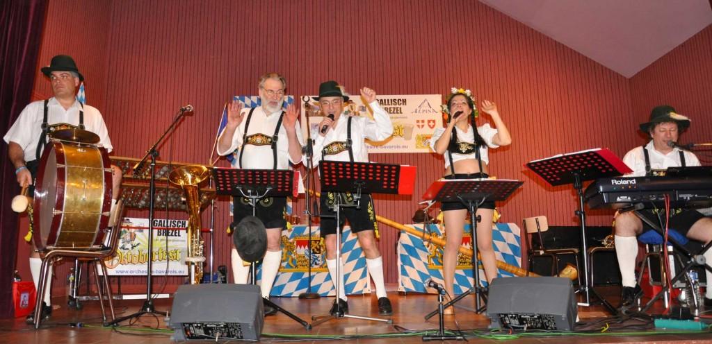 Rosiers sur Loire - 49- 2010- orchestre bavarois 9