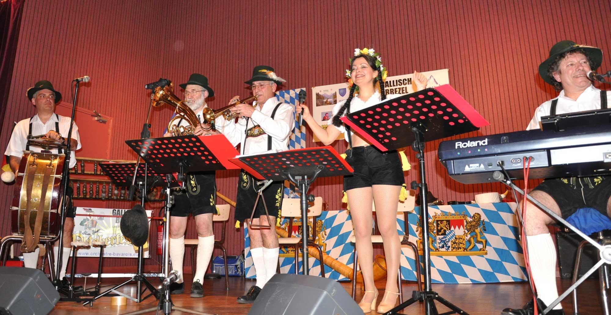 Rosiers sur Loire - 49- 2010- orchestre bavarois 16