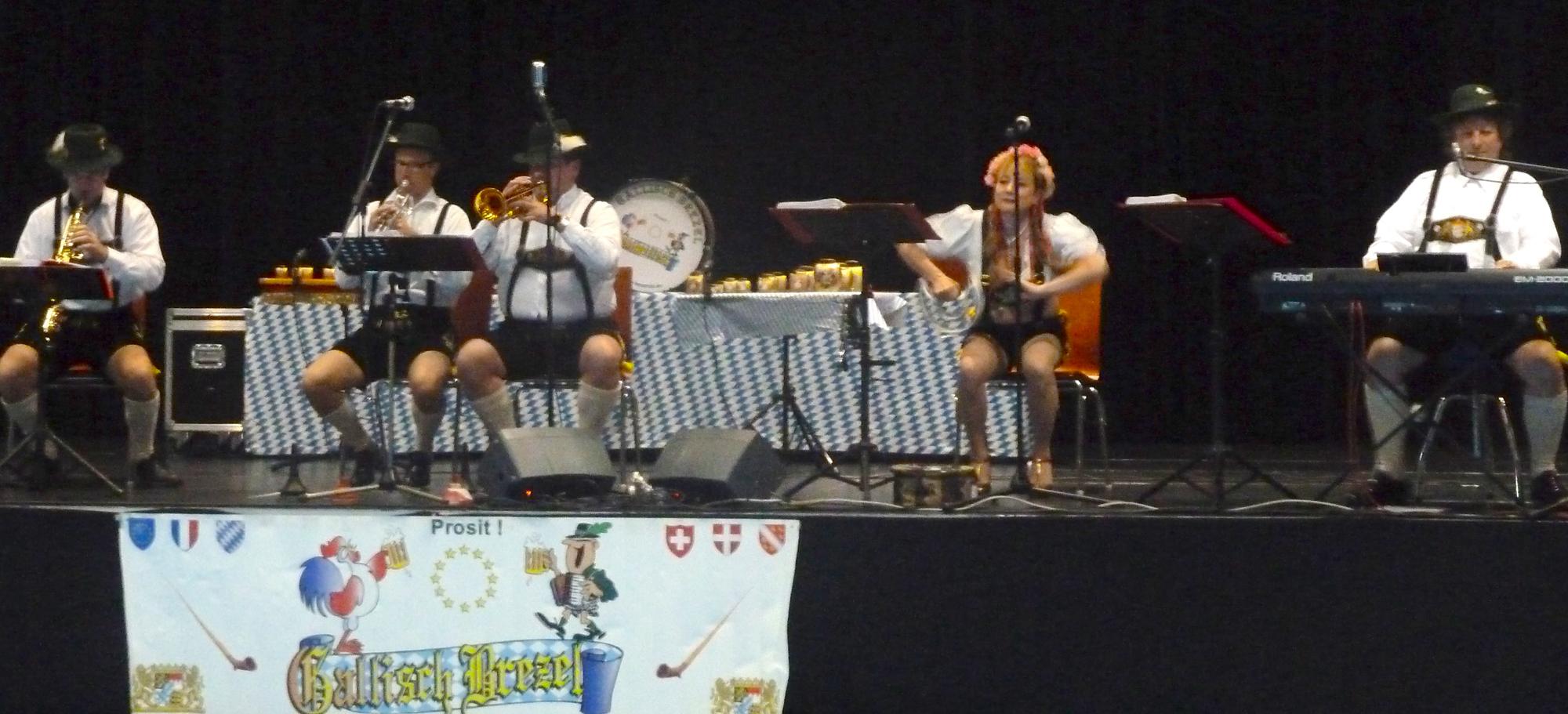 1 orchestre bavarois au Lion's Club de Pont à Mousson 29 9 2012