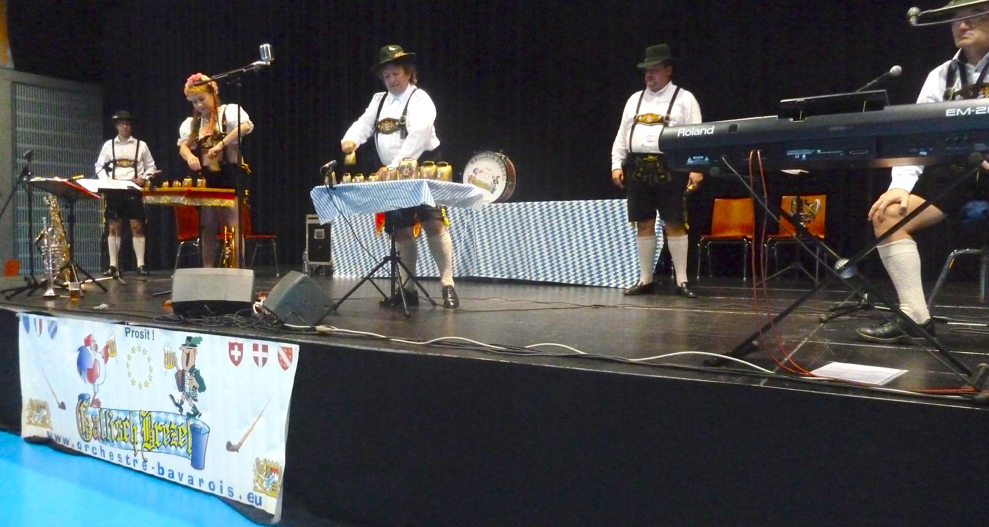 3 Lion's Club 2012 Pont à Mousson orchestre bavarois Clarines
