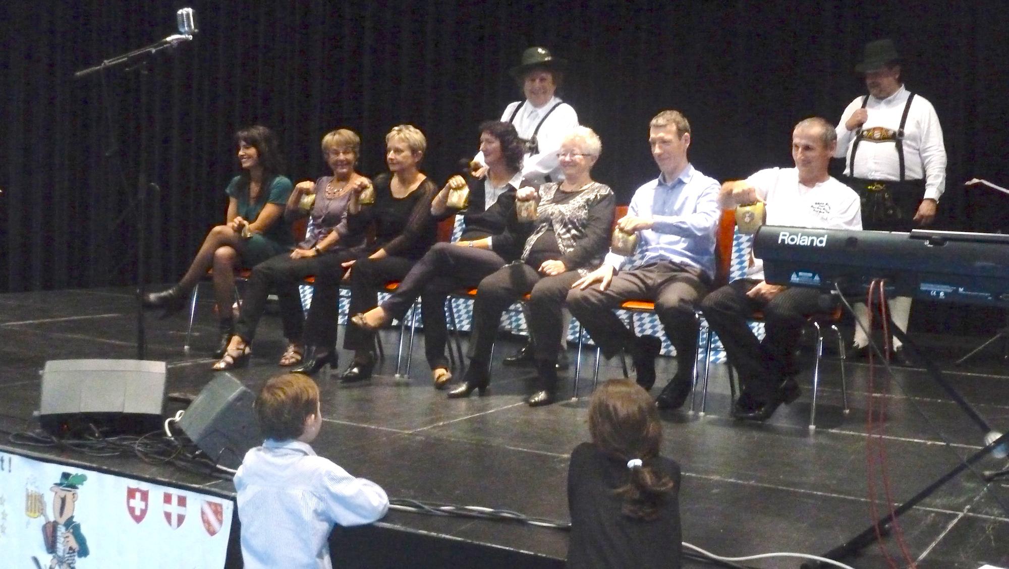 4a Lion's Club 2012 Pont à Mousson orchestre bavarois Jeu avec les Clarines