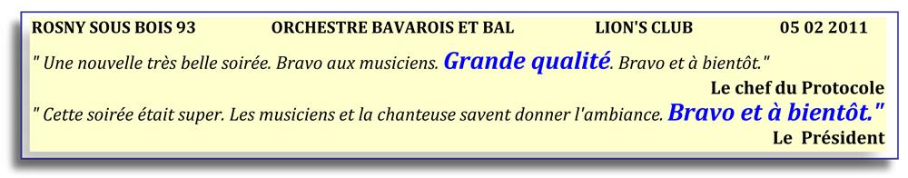 Rosny sous Bois - 93-2011-orchestre bavarois