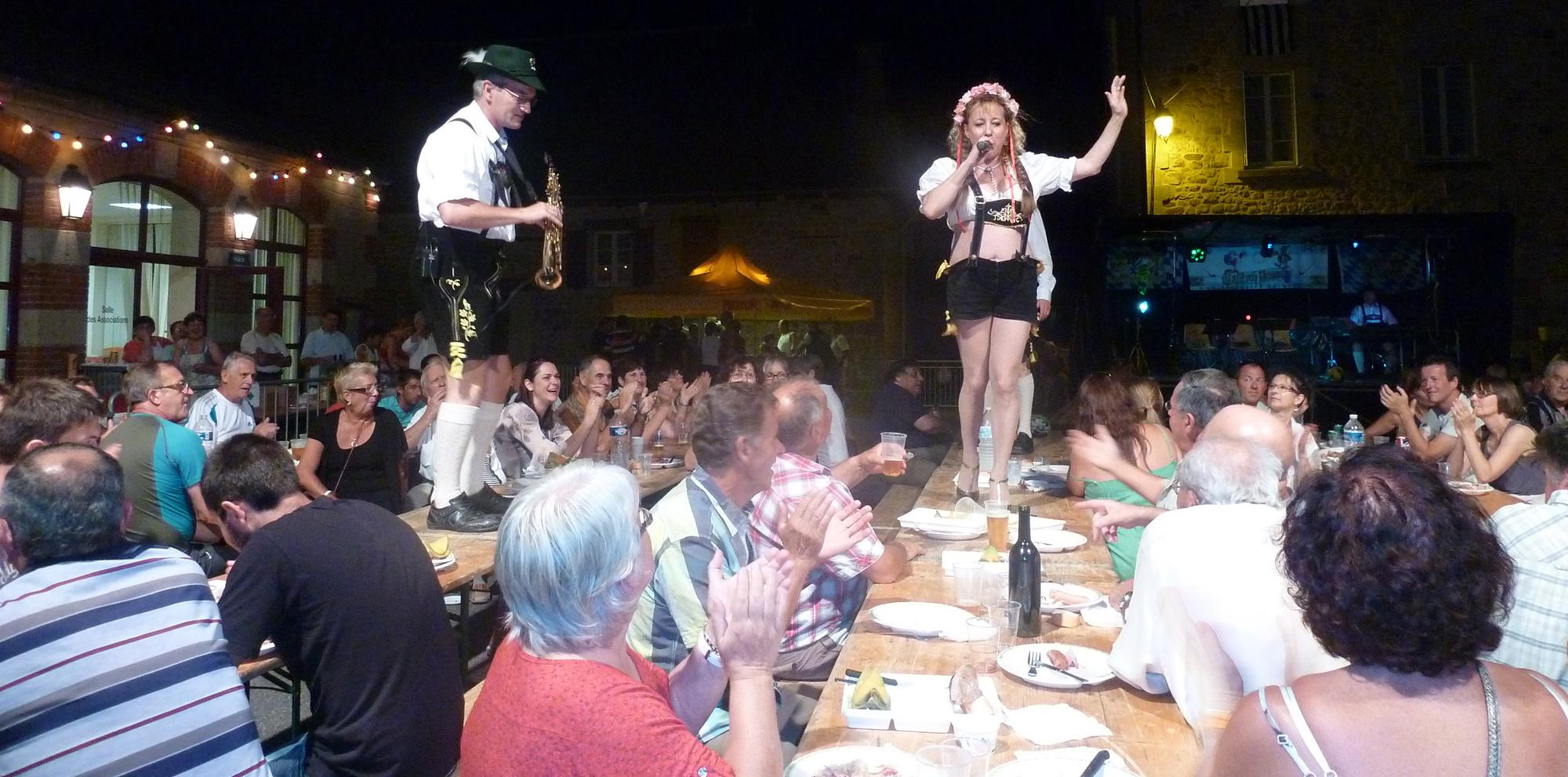 1- 18 aout 2012, fête de la bière à Saint Privat