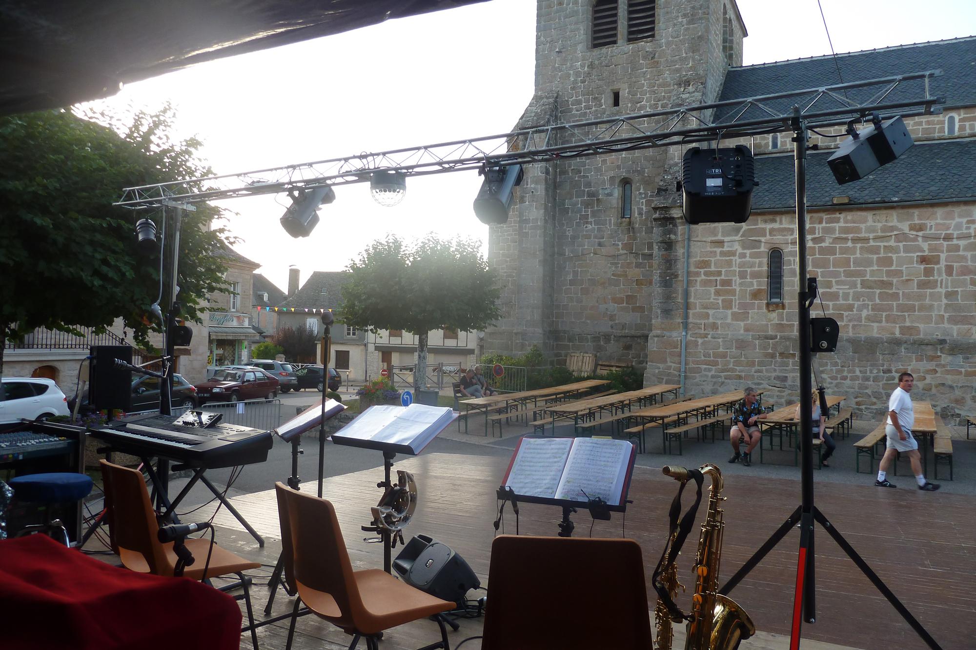 2a- orchestre bavarois à Saint Privat, 18 aout 2012