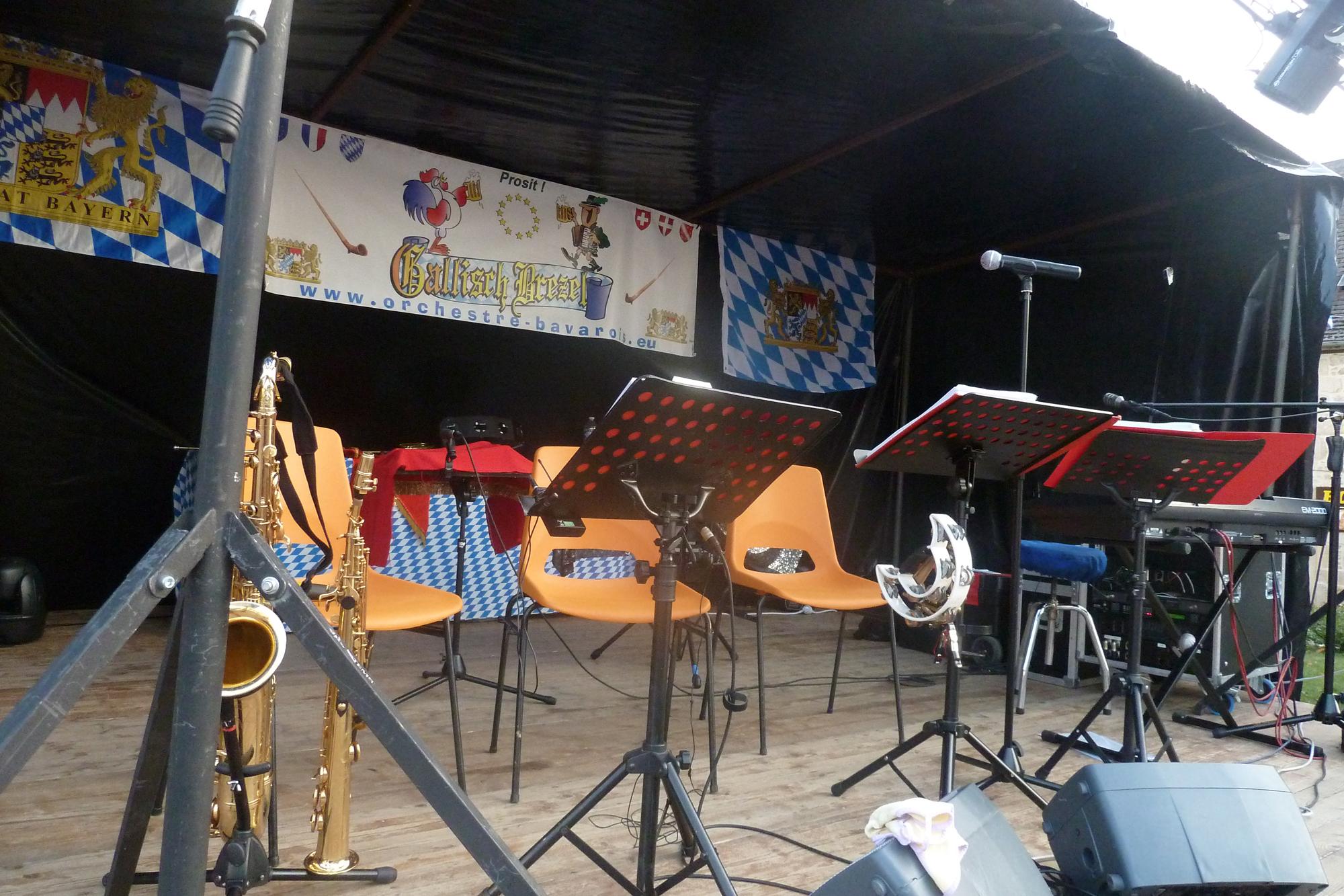 2b- orchestre bavarois à Saint Privat, 18 aout 2012