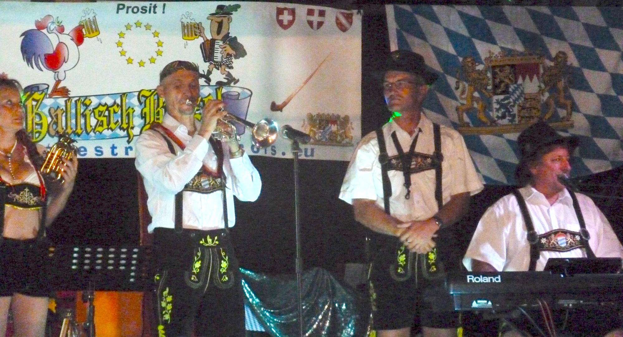 5- orchestre bavarois à Saint Privat 19, 18 aout 2012