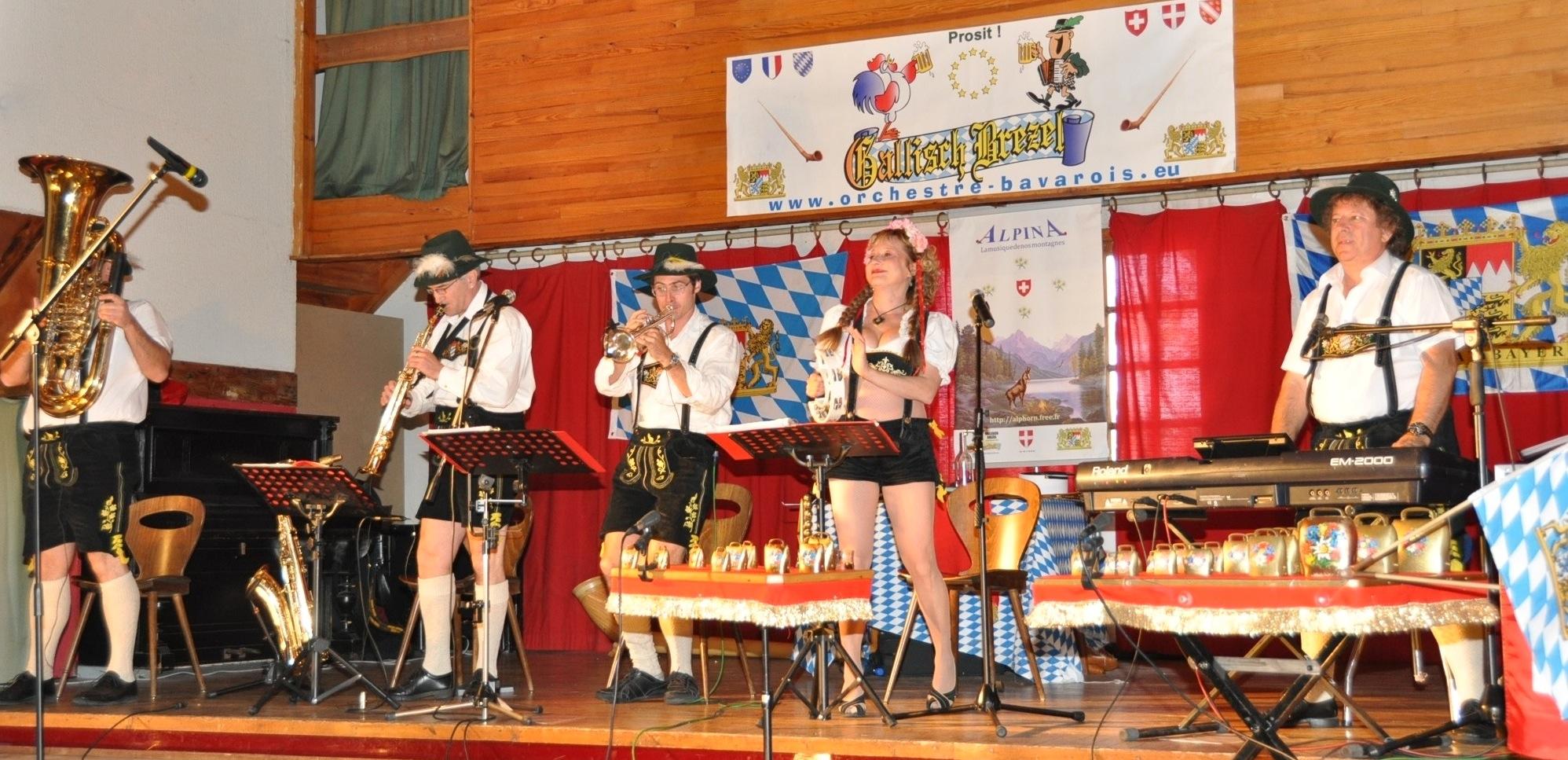Sonorisation haut de gamme, orchestre bavarois