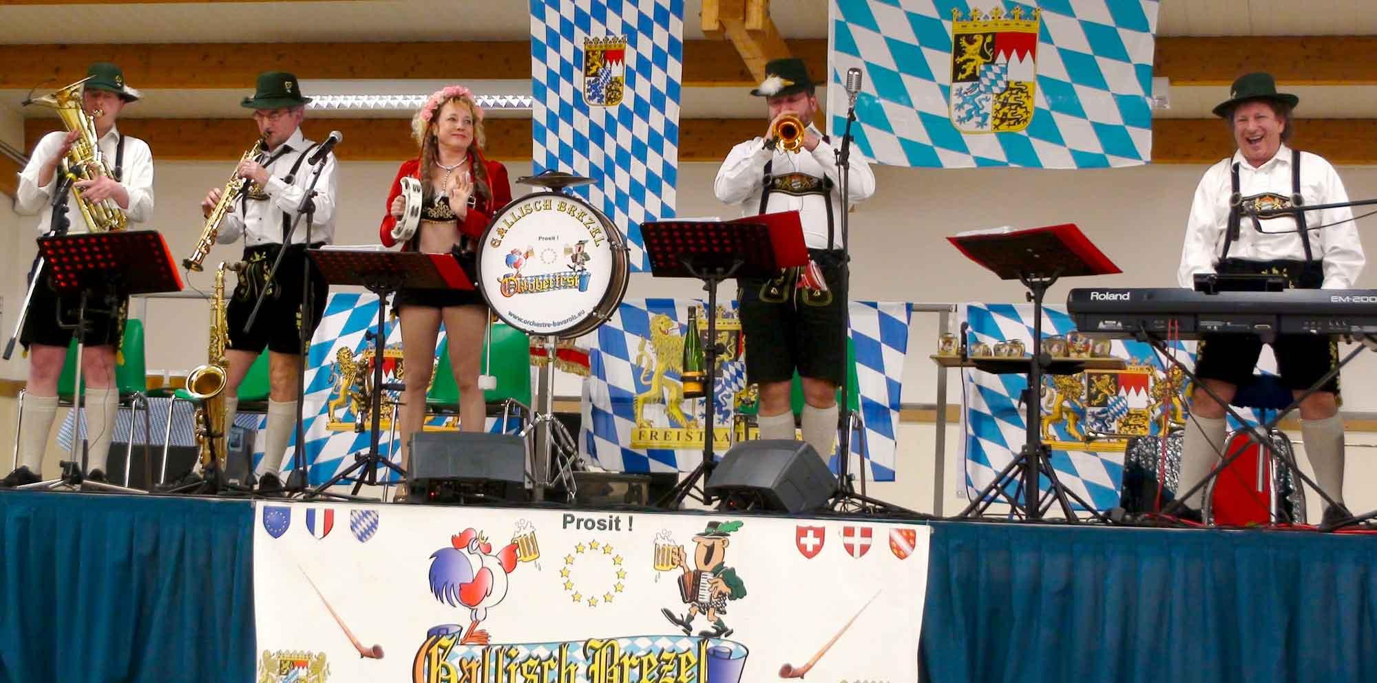 L'orchestre bavarois/alsacien GALLISCH BREZEL