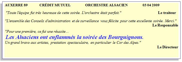 Auxerre 89-2009-orchestre alsacien