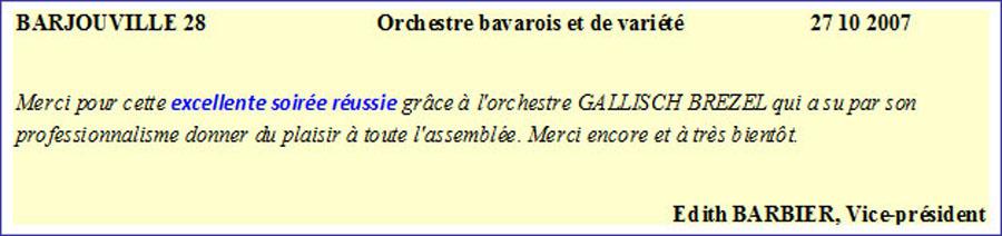 Barjouville 28 - Orchestre bavarois