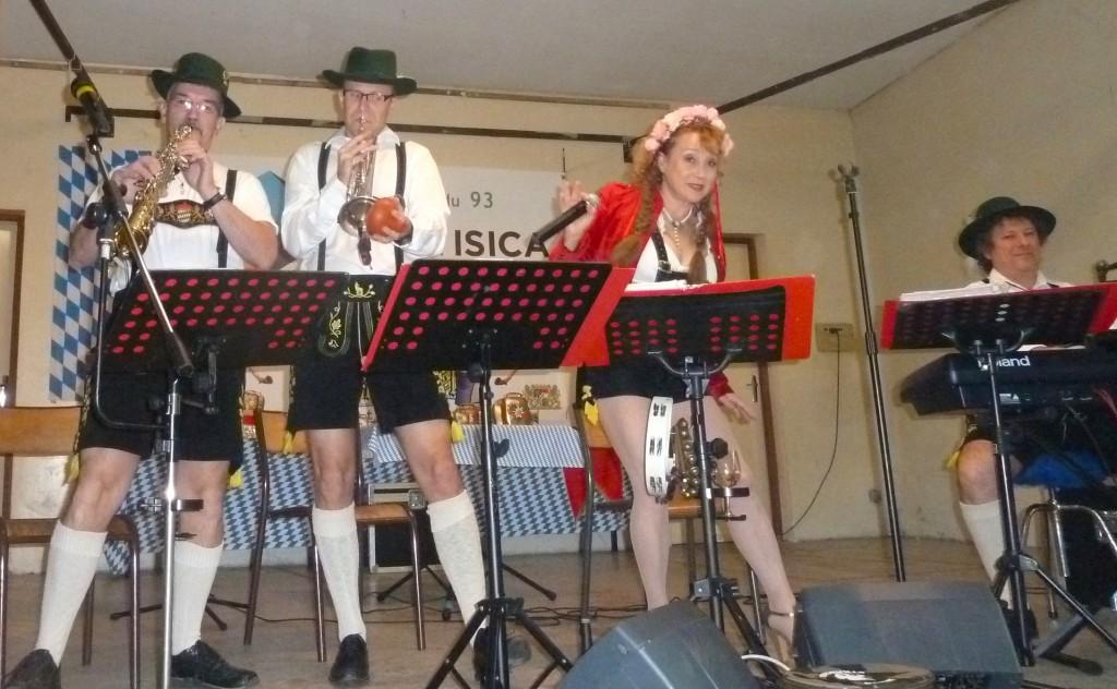 Orchestre bavarois Animation/bal, Numéro de clarines, villeroy