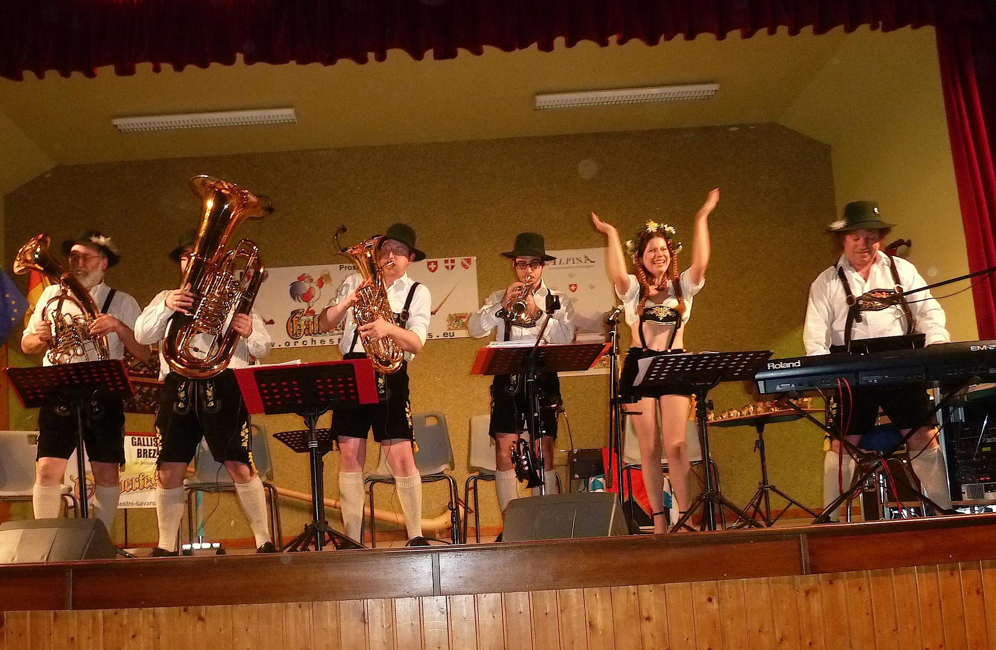 La Croix aux Mines 88 (2011)-musique de la montagne-orchestre bavarois 1