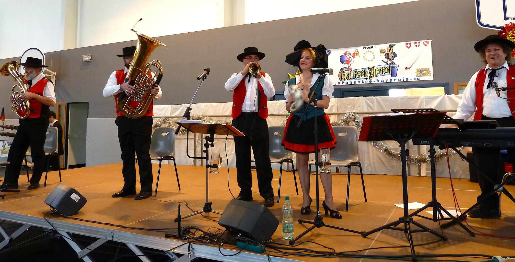 Le Coudray Montceau 91-2010-cor des alpes-orchestre alsacien