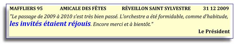 Maffliers 95 (2009)-réveillon saint sylvestre-orchestre bavarois