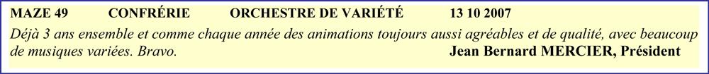 Mazé 49 (2007)-orchestre de variété