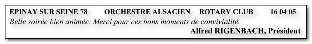 Epinay sur Seine 78-orchestre alsacien