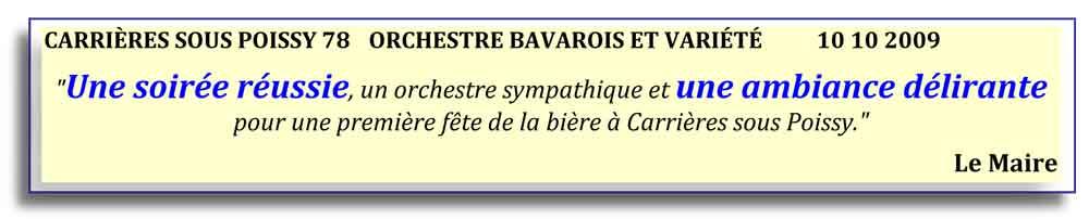 Carrières sous Poissy 78 (2009)-orchestre bavarois