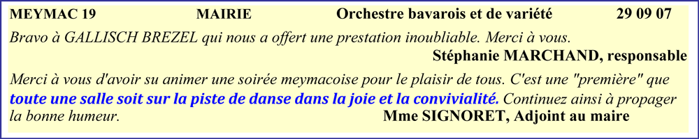 Meymac 19 (2007)- orchestre de variété