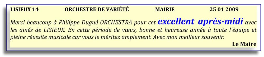 Lisieux 14 (2009)-orchestre de variété