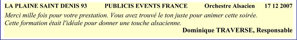 La Plaine St Denis 93-2007-orchestre alsacien