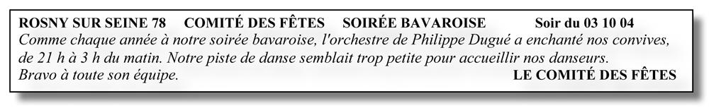 Rosny sur Seine 78 (2004)-soirée bavaroise