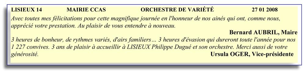 Lisieux 14 (2008)-orcheste de variété