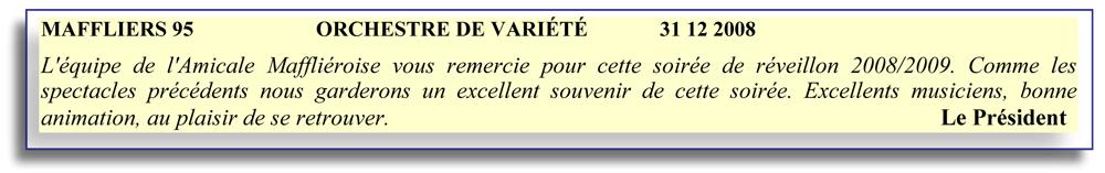 Maffliers 95 (2008) .2-orchestre de variété