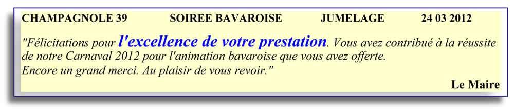 Champagnole 39-2012-soirée bavaroise