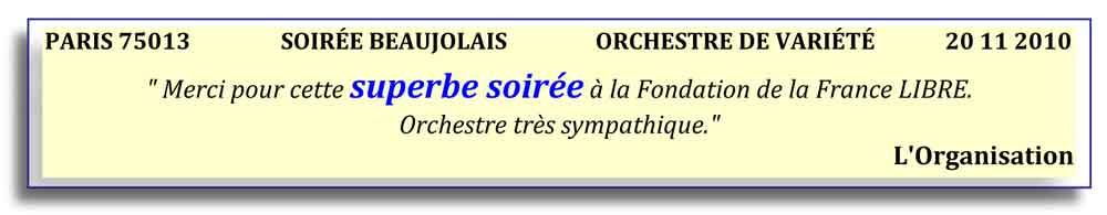 Paris 13-2010 .2 - orchestre de variété