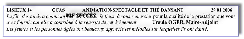 Lisieux 14 (2006)-animation-spectacle-thé dansant