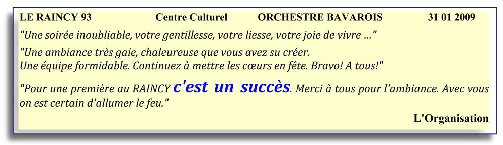 Le Raincy 93-2009-orchestre bavarois