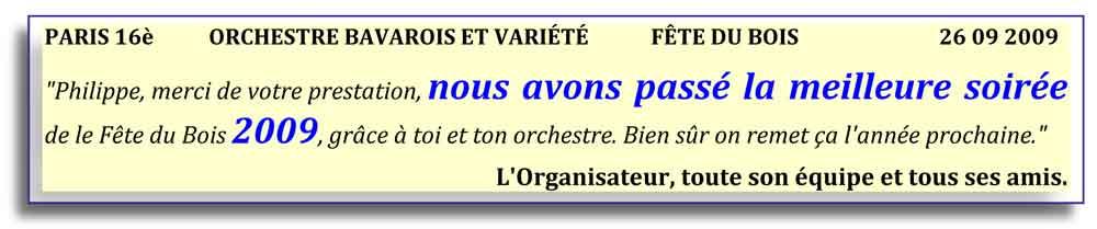 Paris 16e (2009)-orchestre bavarois-orchestre de variété