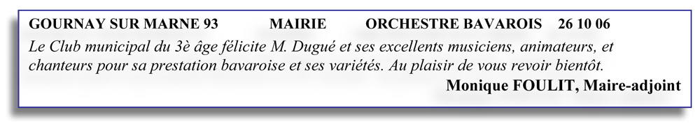 Gournay sur Marne 93 (2006)-orchestre bavarois