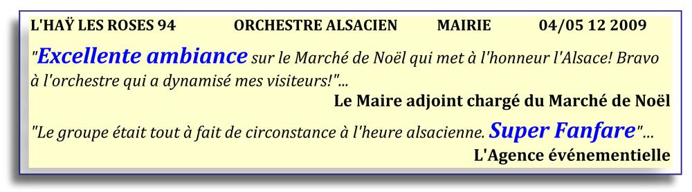 L'HAY LES ROSES 94-orchestre alsacien