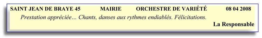 Saint Jean de Braye 45-2008-orchestre de variété