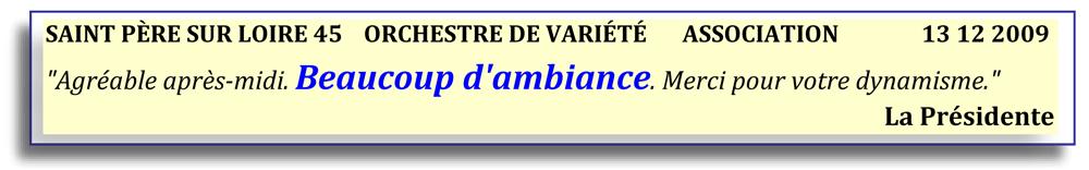 Saint Père sur Loire 45-2009-orchestre de variété