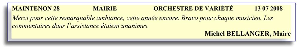 Maintenon 28 (2008)-orchestre de variété