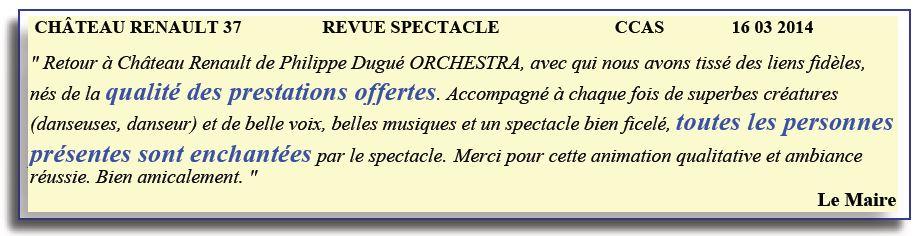 Château Renault - 37 - 2014 - spectacle folklorique