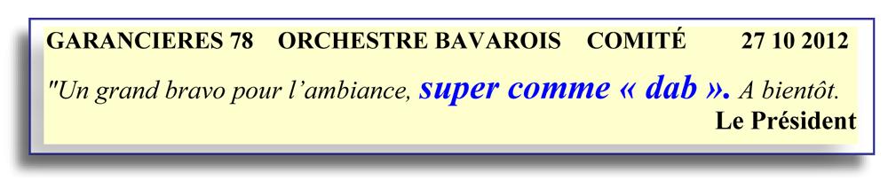 Garancières 78 (2012) -orchestre bavarois