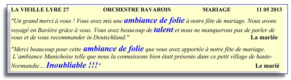 La Vielle Lyre 27-2013-orchestre bavarois