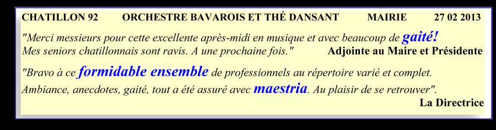 Chatillon 92 - 2013 -orchestre bavarois