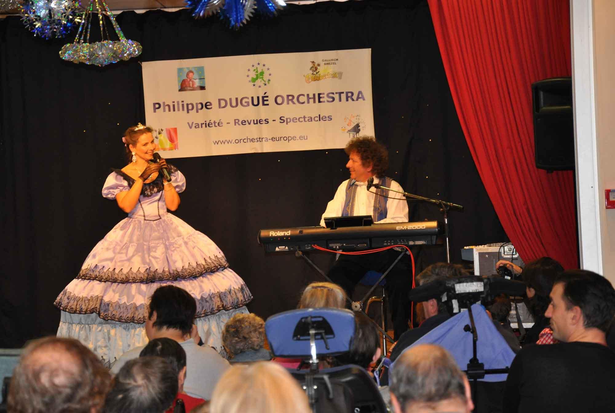 Paris 13 .3- 2009- orchestre de variété 9