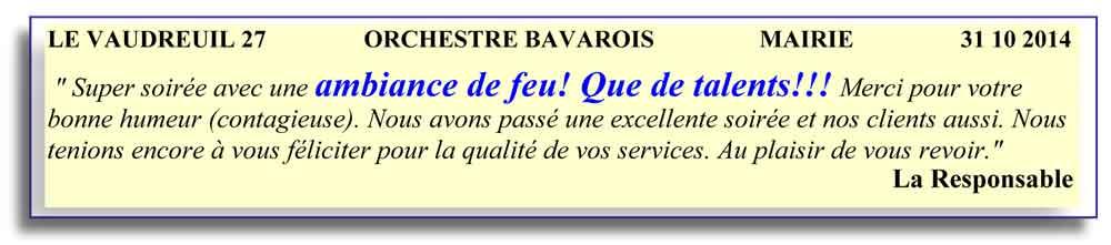 Le vaudreuil 27 - 2014 - orchestre bavarois