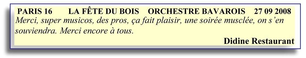 paris 16 - 2008- orchestre bavarois