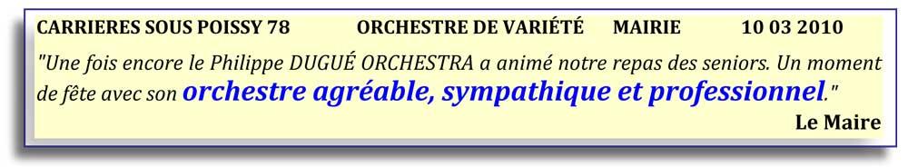 Carrières sous Poissy 78 (2010)-orchestre de variété